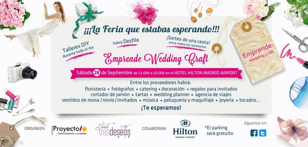 Emprende Wedding Craft y la Feria de Bodas DIY
