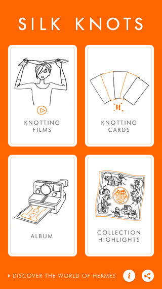 Hermes Silk Knots Miss and Chic