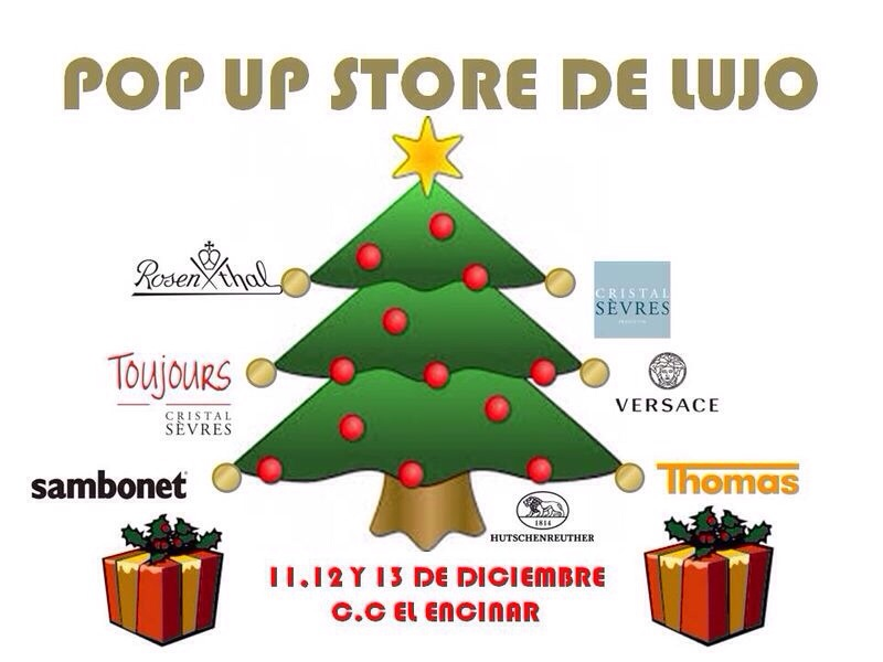 Pop Up Store del Lujo