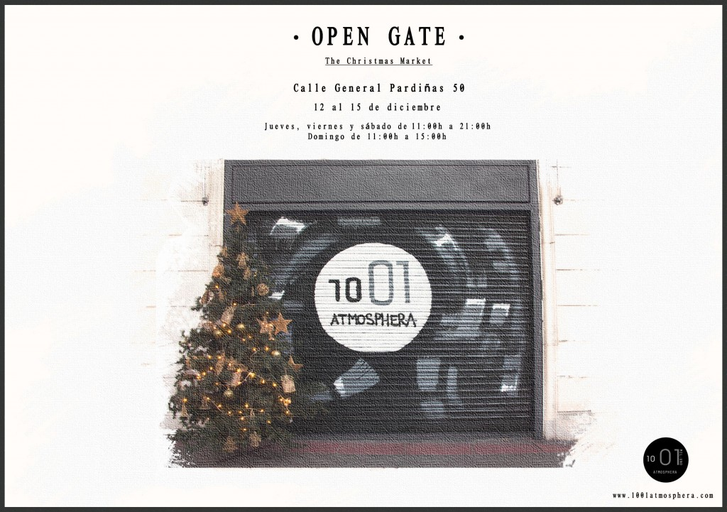 OPEN GATE- The Christmas Market