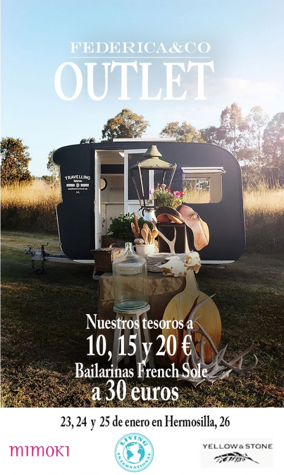 OUTLET LIVING INTERNATIONAL 23, 24 y 25 de enero en Federica & CO‏