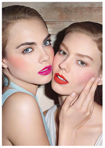 YSL KISS and BLUSH_Institutional visual