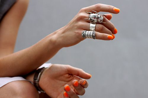 uñas_orange_missandchicblog