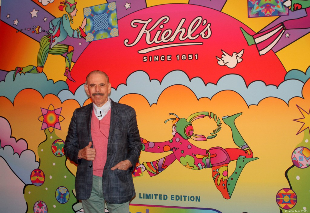 Peter_Max_at_Kiehl's_2015_Holiday_Launch_Event